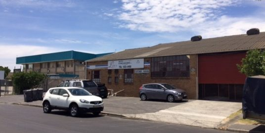 Factory to Let Parow Industria 2