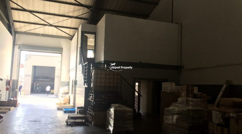 warehouse to rent airport industria gforce park 12