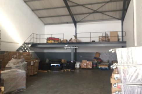 warehouse to rent airport industria gforce park 13