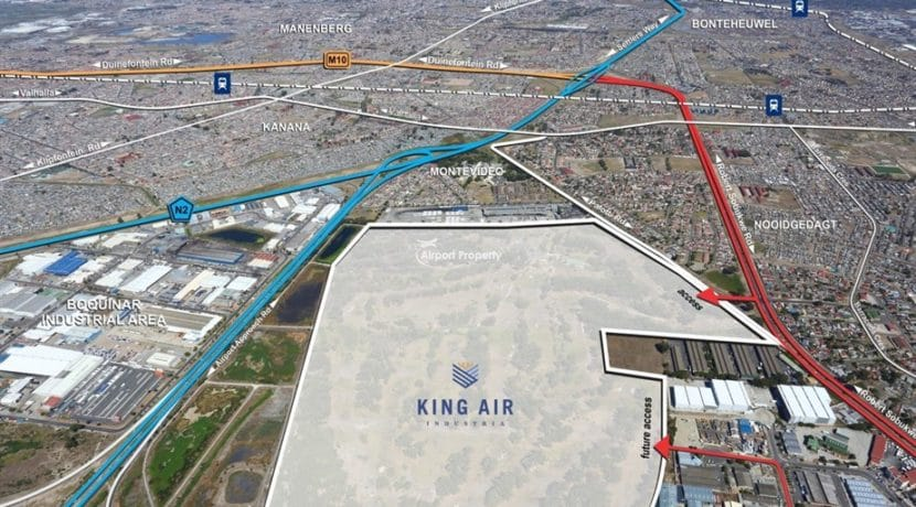 land for development airport industria king air 10 1