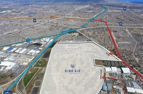 land for development airport industria king air 10