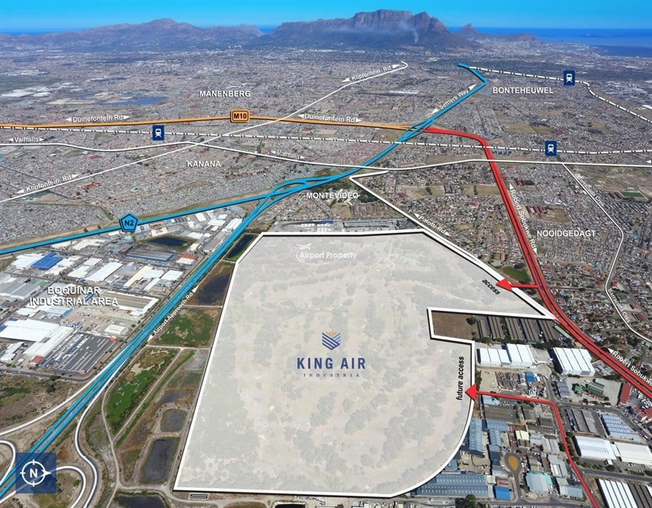 2000m² – 50,000m² Warehouses to rent King Air Industria, Airport Industria